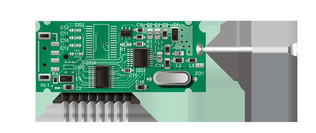 Модуль приемо-передатчика МТRF-64 умный дом nooLite